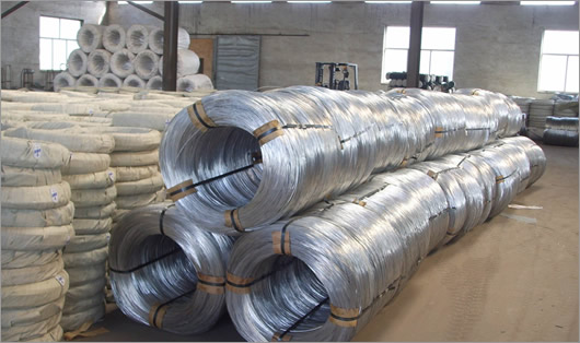 galvanized wire storage