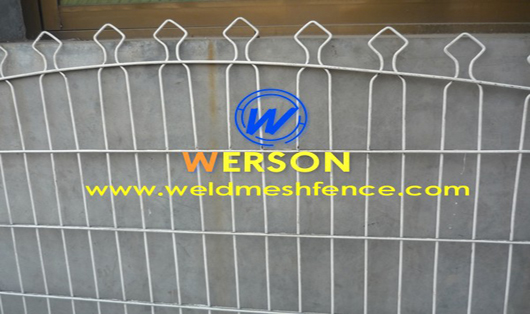 Decorative Panel Fencing System Werson Wire Mesh Fence Co